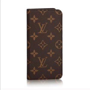 size 40 dfa88 a512b Louis Vuitton iPhone 7 Plus & 8 Plus Folio